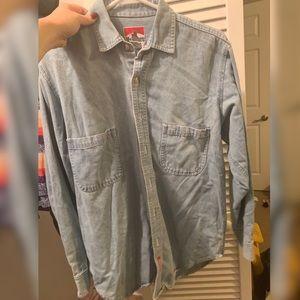 VINTAGE! Marlboro denim work shirt from the 90s!